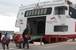 Boarding the Ferry to Tangier, Morocco